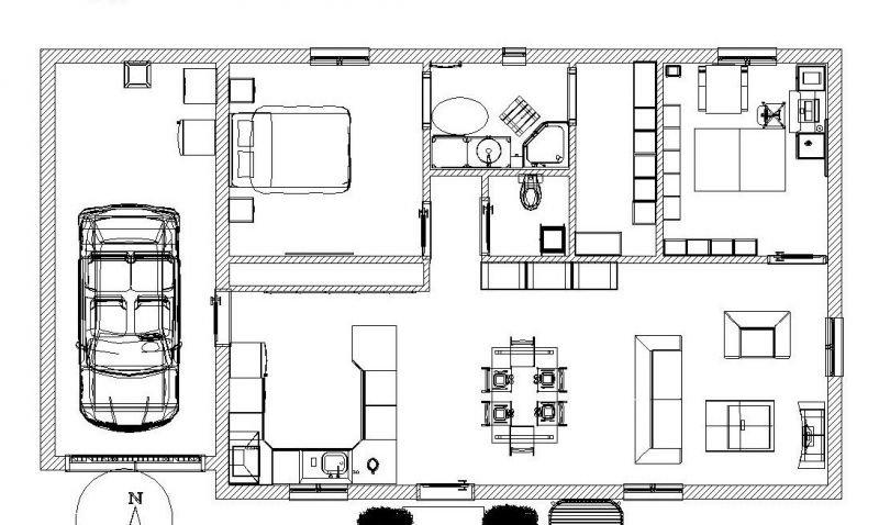 plan de maison 4 murs et 1 toit l 39 aventure de ma