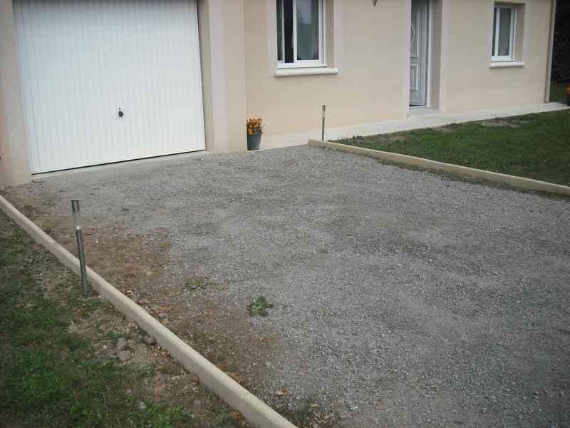 bordure 4 murs et 1 toit l 39 aventure de ma construction On bordure de maison en gravier